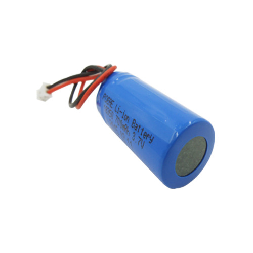 18350 3.7v 700mah rechargeable lithium battery for rc helicopter/led lights manufacturers in Dongguan