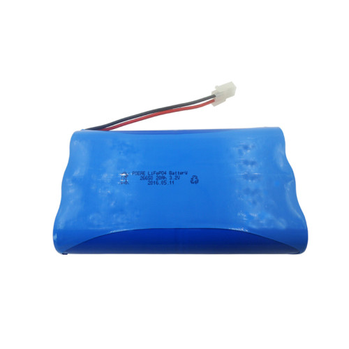 Custom 26650 3.2volt 20ah lifepo4 deep cycle battery pack with pcm for starting solar power system in Germany