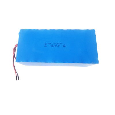 Li-ion type 6S6P 18650 24v 18ah rechargeable lithium ion battery for electric bike golf trolley European