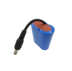 Customzied 26650 lifepo4 2s1p 6.4 volt rc battery pack for monitor/outdoor lights in Singapore