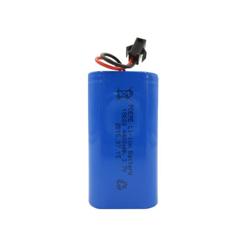 18650 rechargeable li-ion battery pack 3.7v 4400mah for camping lantern handheld tester Asia