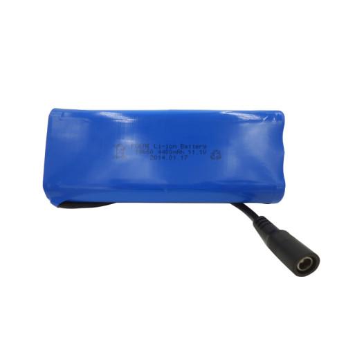 3S2P 18650 11.1v 4400mah lithium battery pack for gps tracker stage light Australia
