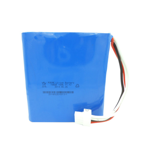 Rechargeable 12v 10ah lithium ion battery pack for camera ultrasonic equipment Dongguan