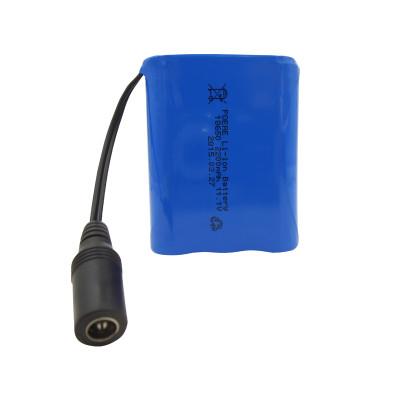 3s1p 18650 12V 2200mah li-ion battery pack for led lights camera Canada