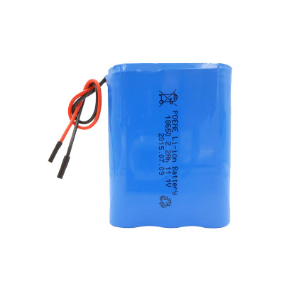 3S1P 18650 12v 2200mah rechargeable li-ion battery pack for led strip infusion pump China