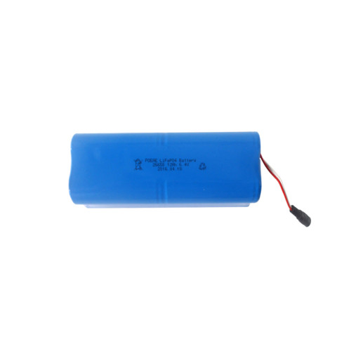 26650 2s4p 6.4v 12ah lifepo4 rechargeable battery pack for robot/emergency lighting sale in NZ