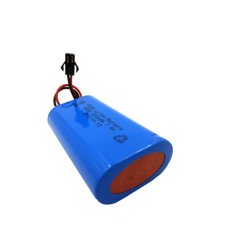 Since 2007 2S1P 18650 7.4v 2200mah lithium ion battery for led lamp light China