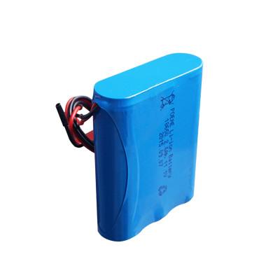 3s1p 12v 2600mah li-ion 18650 battery pack types for telescope/led lights sale in USA