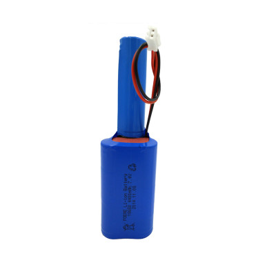 7.4 volt 2s2p 18650 4400mah lithium ion battery pack for solar lights manufacturers in China