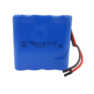 PCM protected 3S4P 8800mAh 12v 18650 li-ion battery pack for stage lamp drones Shenzhen