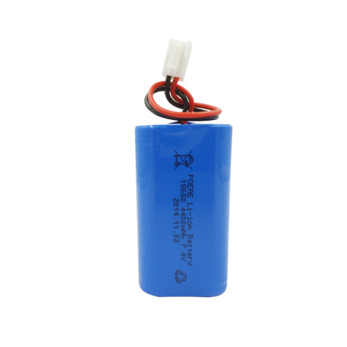 7.4v 4400mah 18650 li-ion rechargeable battery for emergency light electric shears China