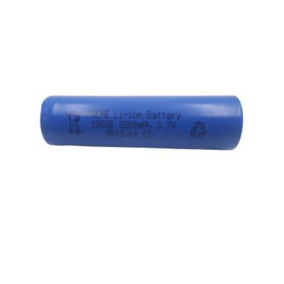 1S1P 3.7V 3200mah 18650 rechargeable li-ion battery for race car flashlight Korean