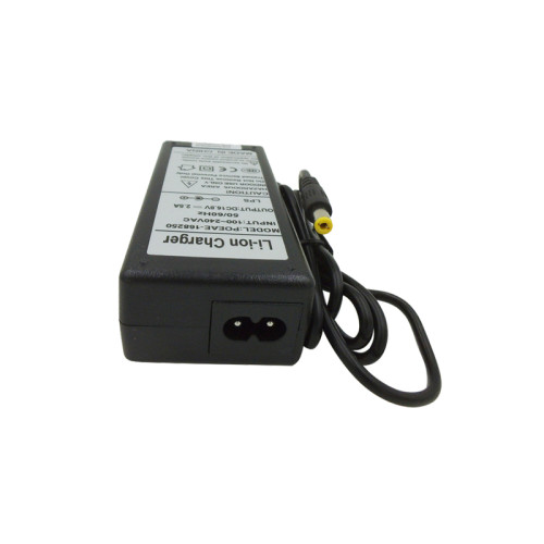 Hot sell li-ion charger dc 16.8v 2.5a power adapter made in Guangdong