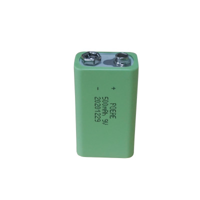 Standard prismatic china 9v 500mah rechargeable lipo battery