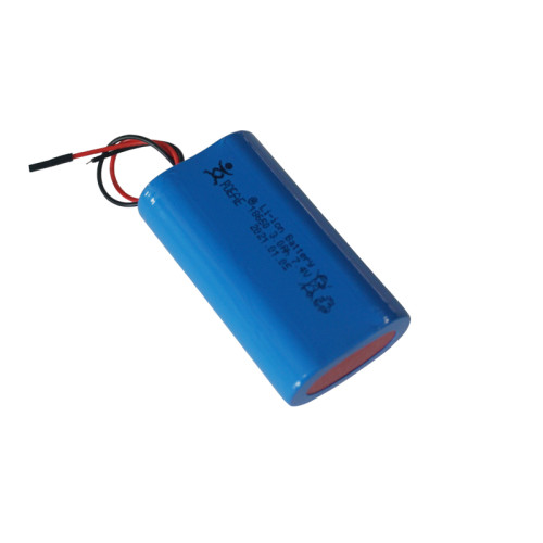 Standard rechargeable 7.4v 3000mah 18650 li ion battery pack for LCD panel