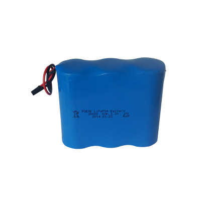 High performance 1s3p 26650 3.2v 6ah lifepo4 battery pack for replacement