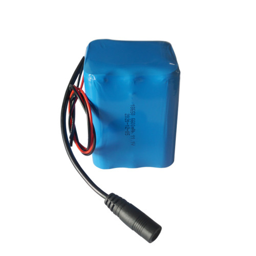 OEM 18650 rechargeable 12v 6600mah lithium ion battery for road light