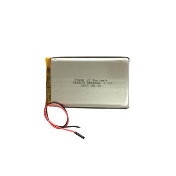 855073 prismatic soft 3.7v 3500mah li polymer battery pouch for smart watch
