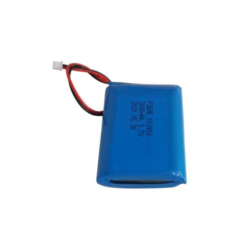 regular lipo battery rechargeable 103450 3.7v 2000mah li ion battery