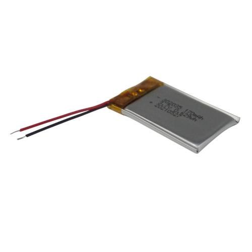 3mm thickness small capacity 302035 3.7v 170mah rechargeable lipo li ion battery