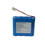 high capacity isr 18650 1s4p structure 3.7v 12ah rechargeable li ion battery pack