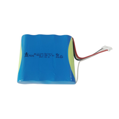 4S1P structure 18650 battery 14.8V 2000mAh rechargeable li ion battery pack for sound equipment