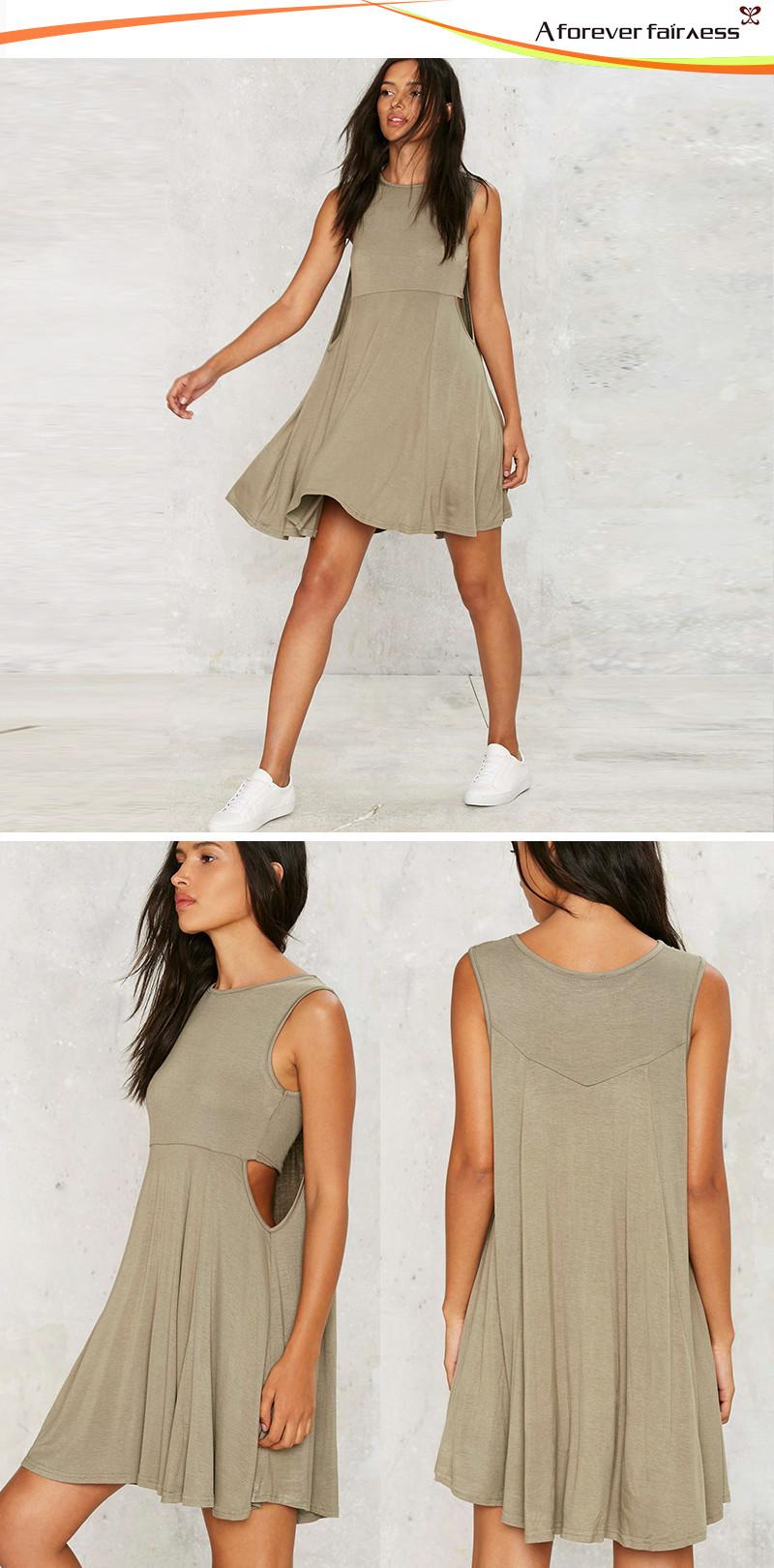 100% Cotton Breathable Dress