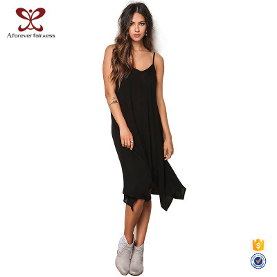 Summer New Fashion Sexy Girl 100% Cotton Braces Sexy Backless Evening Party Dress For Women