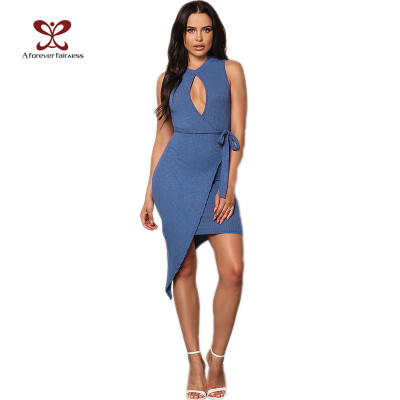 Fashion New Design Open Breast Dress Prom Fancy Bodycon Dress For Women China