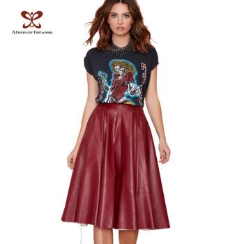 Latest New Fashion Women Skirt Sexy Lady Skirt Women Leather Skirt Women Mini Skirt