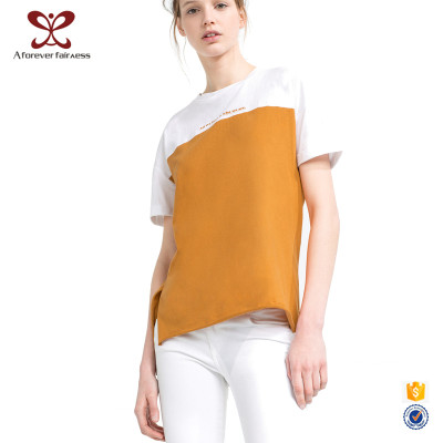 Short Sleeve Women T-Shirt Casual O-Neck T-Shirt For Fashion Ladies