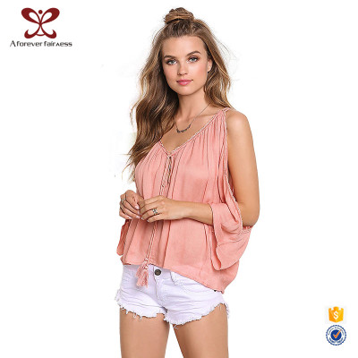 Summer Women T-Shirt Sexy Pink T-Shirt For Fashion Ladies