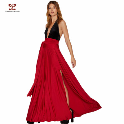 Latest Long Skirt Design Fashion Sexy High Side Slit Latest design Summer Long Skirts And Tops , long skirt , Maxi skirt