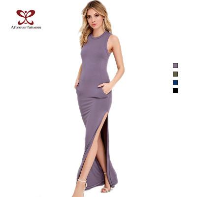New Fashion Design For Women Cotton Bodycon Beach Dress,Women Long Dress