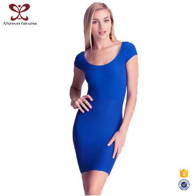 Sexy Badycon Women Dress O-Neck Backless Dress Women Fashion Slinky Slim Fit Dress