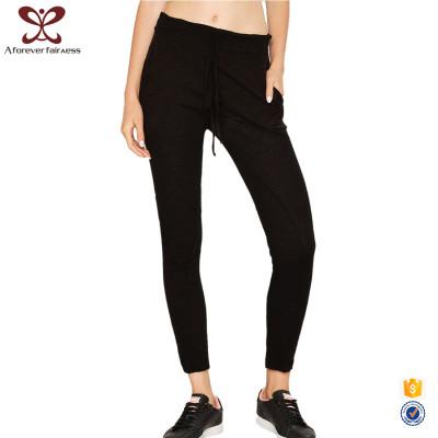 A Forever Fairness Fitness Yoga Pants New Design Jogging Black Cotton Pants Jogger Pants Women