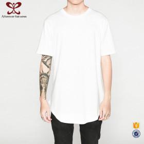 A Forever Fairness Black Men 100% Cotton T Shirts Blank Mens Curved Hem T Shirt
