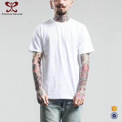 A Forever Fairness O Neck Short Sleeve White Men 100% Cotton T Shirt