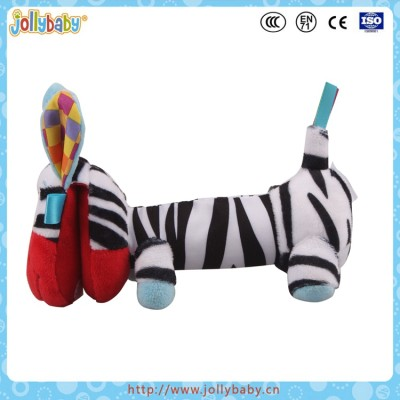 Hot New Product In 2016 Promotion Gift Stuffed Baby First Toy Donkey Plush Rattle Toy