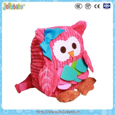 New Fashion Animal Cartoon Backpack Children Bag Baby School Backpack for 0-3 years