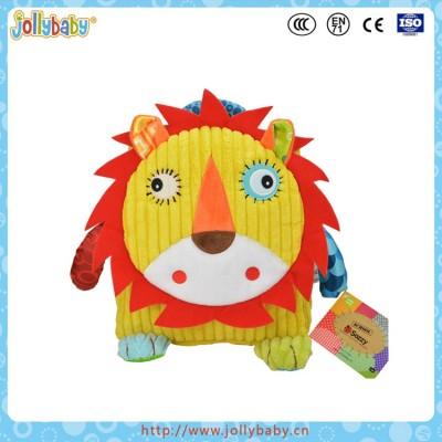 2016 China Newest Wholesale Preschool Children Bag With Cartoon Plush Animals