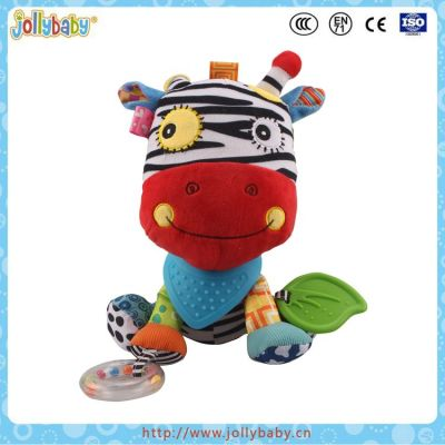 Jollybaby  Arrival Multifunctional Educational Baby Stuffed Donkey Toy