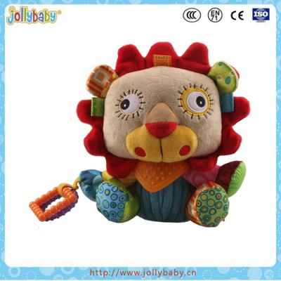 Baby Plush Snuggle Cute Stuffed Multifunctional Hanging Lion Toy
