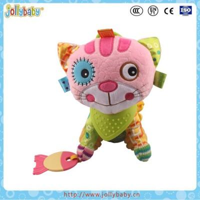 Jollybaby Brand Baby Cute Stuffed Animals Cat Toy