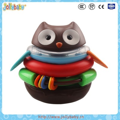 Explore & More Rocking Baby Educational Detachable Plactic Owl Toy Made In China