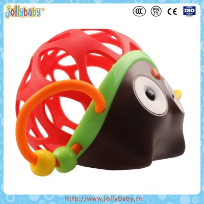 Dongguan Jollybaby Favourite Plastic Owl Kids Hand Rattle Toy