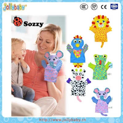 Sozzy 2016 New Arrival Baby Soft Hand Puppet