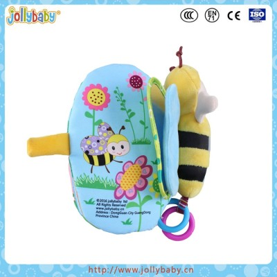 Jollybaby 2016 Toddler Time Cloth Book Butterfly Baby Educational Fabric Book