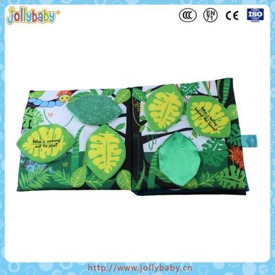 Jollybaby OBM Fashion Children Educational Soft Toy Baby Cloth Book