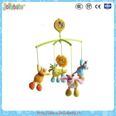 Jollybaby Baby Crib Plastic Wind-up Musical Mobile Toy